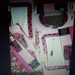 Locker DECOR by Totally Me PINK & BLACK ZEBRA HEAR